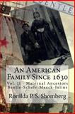 An American Family Since 1630, Ronilda Shomberg, 1495463664