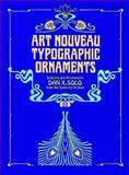 Art Nouveau Typographic Ornaments, , 0486243664