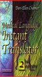 Medical Language Instant Translator, Chabner, Bruce A. and Chabner, Davi-Ellen, 0721603661