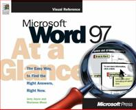Microsoft Word 97 at a Glance, Joyce, Jerry and Moon, Marianne, 1572313668