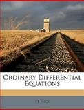 Ordinary Differential Equations, El Ince, 1149493674