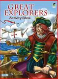 Great Explorers Activity Book, George Toufexis, 0486483673