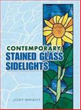 Contemporary Stained Glass Sidelights, Jody Wright, 0486453677