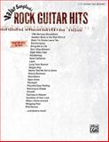 Value Songbooks -- Rock Guitar, Alfred Publishing Staff, 0739063677