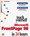 Sams' Teach Yourself Microsoft Frontpage 98 in 24 Hours, Shafran, Andy, 1575213672
