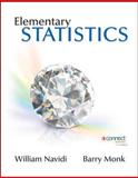 Elementary Statistics, Navidi, William and Monk, Barry, 0077573676