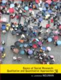 Basics of Social Research : Qualitative and Quantitative Approaches Plus MySearchLab with EText, Neuman, W. Lawrence, 0205863671