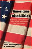 Americans with Disabilities, , 0415923689