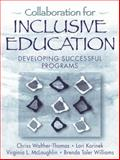Collaboration for Inclusive Education 1st Edition