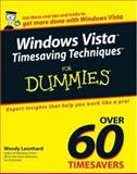 Windows Vista Timesaving Techniques for Dummies, Woody Leonhard, 0470053682