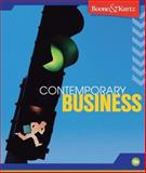 Contemporary Business, Boone, Louis E. and Kurtz, David L., 047043368X
