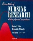 Essentials of Nursing Research : Methods, Appraisal and Utilization, Polit, Denise F., 0397553684