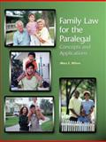 Family Law for the Paralegal, Wilson, Mary E., 0131593684