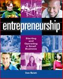 Entrepreneurship : Starting and Operating a Small Business, Mariotti, Steve, 0132223694
