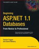 ASP .NET 1.1 Databases, Dan Maharry, 1590593693