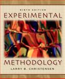 Experimental Methodology, Christensen, Larry B., 0205393691