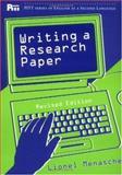 Writing a Research Paper, Lionel Menasche, 0472083694