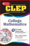 CLEP College Mathematics, Research & Education Association Editors and Friedman, Mel, 0738603694