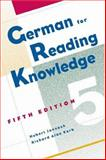 German for Reading Knowledge, Jannach, Hubert and Korb, Richard Alan, 1413003702