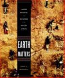 Earth Matters, Karen E. Milbourne, 158093370X