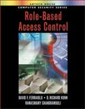 Role-Based Access Controls, Ferraiolo, David F. and Kuhn, D. Richard, 1580533701