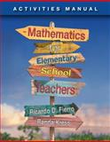 Fierro's Mathematics for Elementary School Teachers 1st Edition