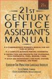 21st Century Office Assistants Manual, Philip Lief Group Inc. Staff, 044061371X