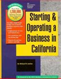 Starting and Operating a Business in California, Jenkins, Michael D., 1555713726