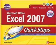 Microsoft Office Excel 2007, John Cronan, 0072263725