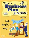 Write a Business Plan in No Time 1st Edition