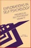 Progress in Self Psychology 9780881633733