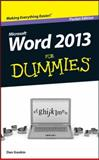 Word 2013 for Dummies, Pocket Edition, Gookin, 1118533739