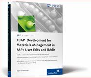 ABAP Development for Materials Management in SAP - User Exits and BAdIs, Schwaninger, Jurgen, 1592293735