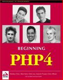 Beginning Php 4, Wrox Author Team Staff, 1861003730