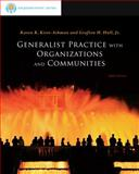 Generalist Practice with Organizations and Communities 9780840033741