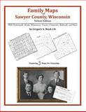 Family Maps of Sawyer County, Wisconsin, Deluxe Edition : With Homesteads, Roads, Waterways, Towns, Cemeteries, Railroads, and More, Body, Gregory A., 1420313746