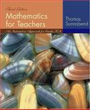 Mathematics for Teachers : An Interactive Approach for Grades K-8, Sonnabend, Thomas A., 0534403743