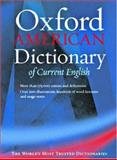 The Oxford American Dictionary of Current English, , 0195133749