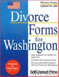 Divorce Forms for Washington, Self-Counsel Press Staff, 1551803747