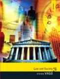 Law and Society, Vago, Steven, 0205863744