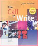 Call to Write, Trimbur, John, 0618923748