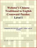 Webster's Chinese Traditional to English Crossword Puzzles, Icon Reference Staff, 0497253755