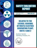 Safety Evaluation Report Related to the License Renewal of Vogtle Electric Generating Plant, Unit 1 And 2, U. S. Nuclear Commission, 1500153753