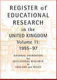 Register of Educational Research in the United Kingdom, , 0415173752