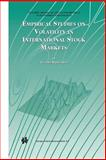 Empirical Studies on Volatility in International Stock Markets, Hol, Eugenie M. J. H., 1441953752
