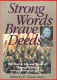 Strong Words, Brave Deeds, H. Gustav Klaus, 0862783763