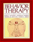 Behavior Therapy : Techniques and Empirical Findings, Masters, John C. and Burish, Thomas G., 0155053760
