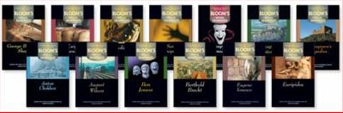 Bloom's Major Dramatists, Bloom, Harold and Henry, W., 0791073769
