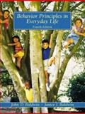 Behavior Principles in Everyday Life, Baldwin, John D. and Baldwin, Janice I., 0130873764
