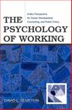 The Psychology of Working : A New Perspective for Career Development, Counseling, and Public Policy, Blustein, David L., 0805843760